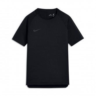 Camisola  Nike Breathe Squad Football Crianças Black