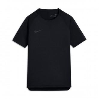 Camiseta  Nike Breathe Squad Football Niño Black