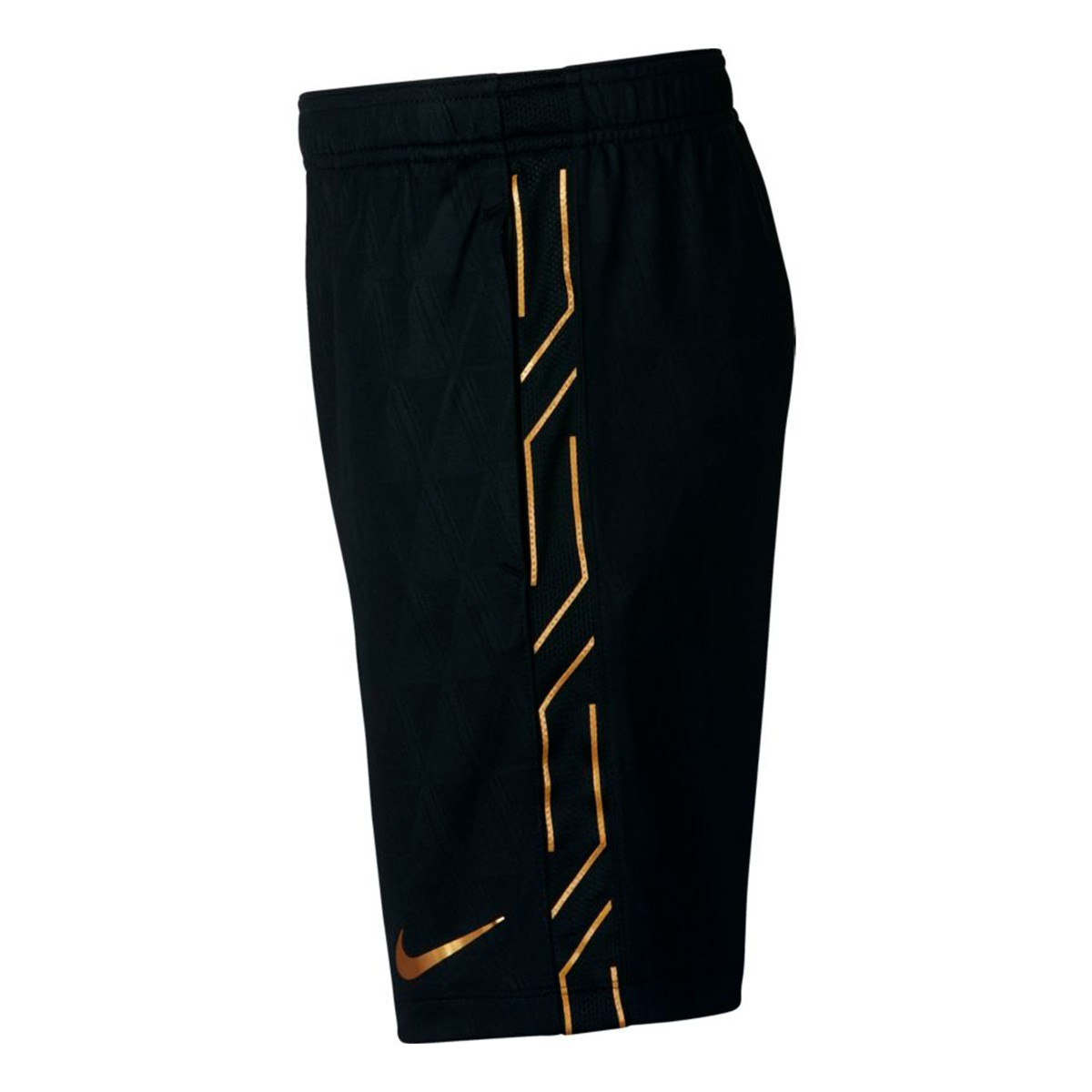 89e65d989c8f Shorts Nike Kids Dry Academy CR7 Black-Metallic gold - Football store  Fútbol Emotion
