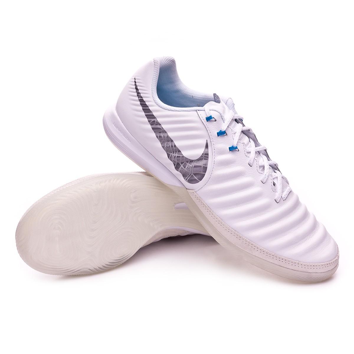 5a9818208e0 Sapatilha de Futsal Nike Tiempo Lunar LegendX VII Pro IC White ...