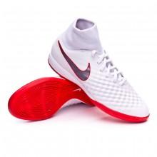 433a20df8b Futsal Boot Nike Magista ObraX II Academy DF IC White-Metallic cool ...