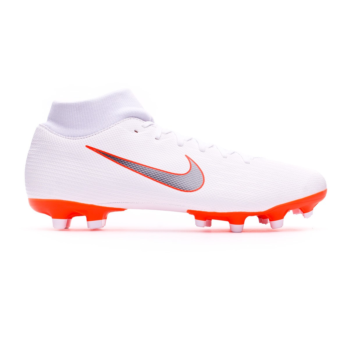 meet afc1a 953e5 ... Bota Mercurial Superfly VI Academy MG White-Metallic cool grey-Total  orange. CATEGORY. Football boots