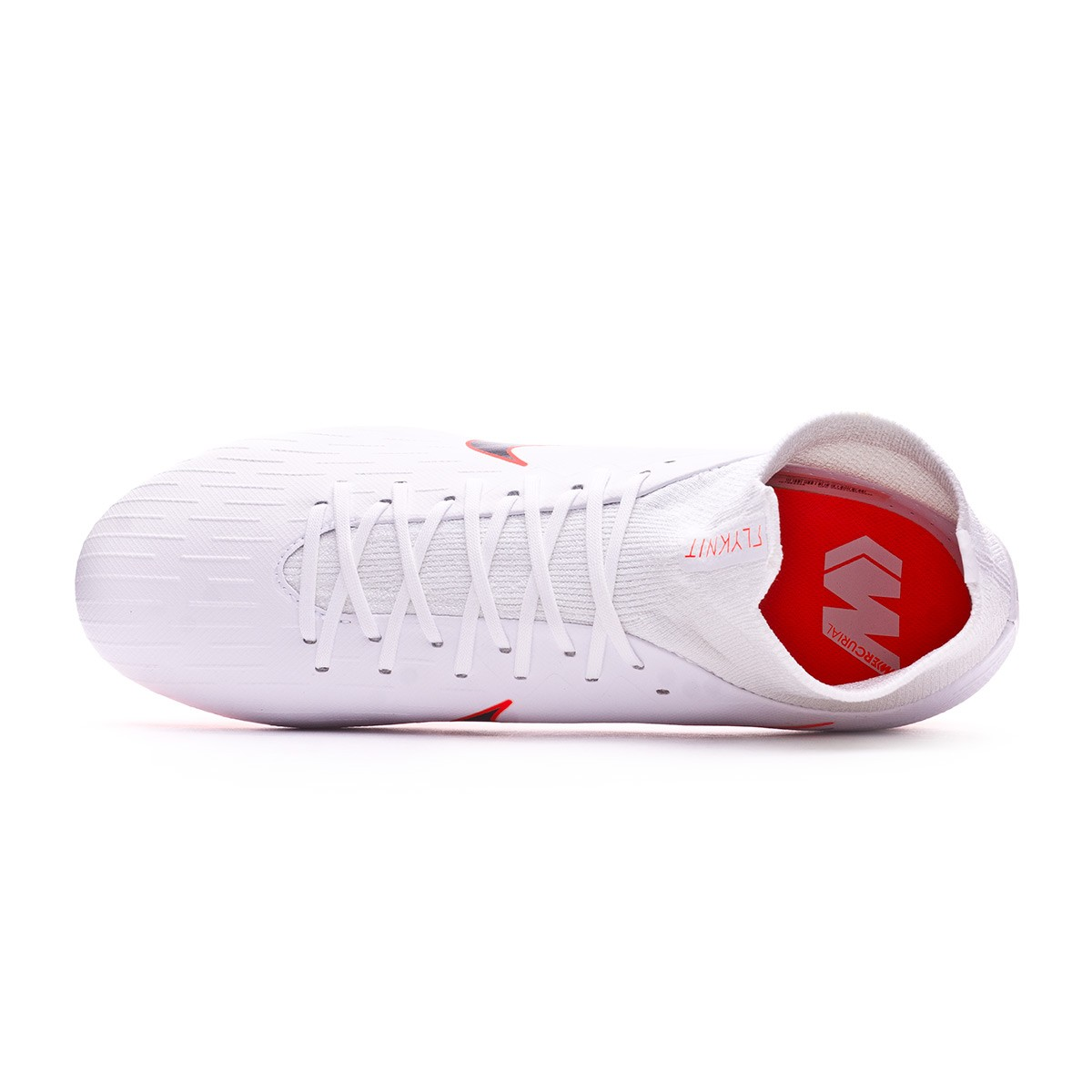 2da26f1a672 Football Boots Nike Mercurial Superfly VI Pro FG White-Metallic cool grey-Total  orange - Tienda de fútbol Fútbol Emotion