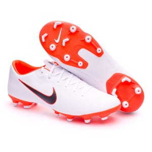 bee98a8ed7e Football Boots Nike Mercurial Vapor XII Academy MG White-Metallic ...