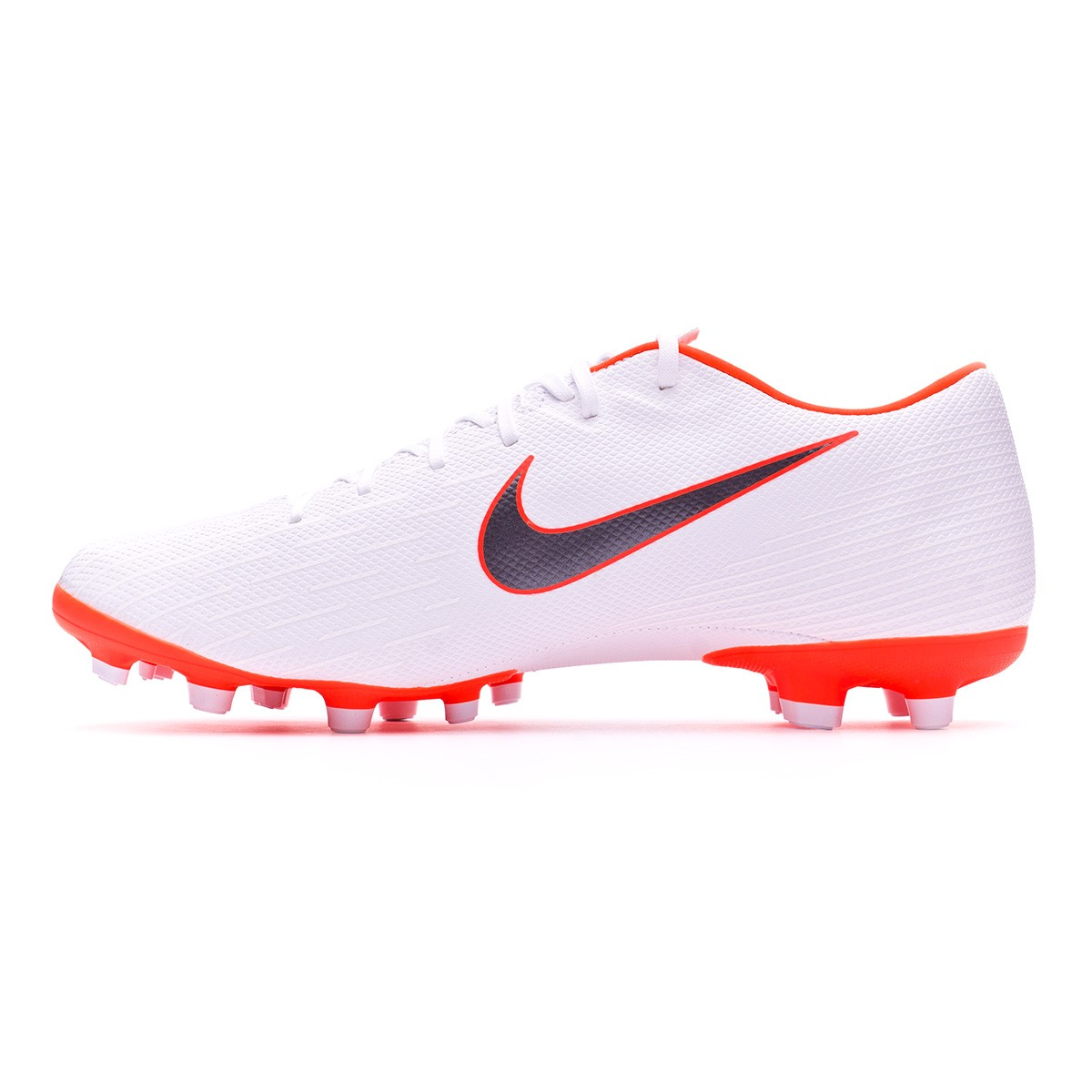 105e35bc3c0 Football Boots Nike Mercurial Vapor XII Academy MG White-Metallic cool grey-Total  orange - Tienda de fútbol Fútbol Emotion