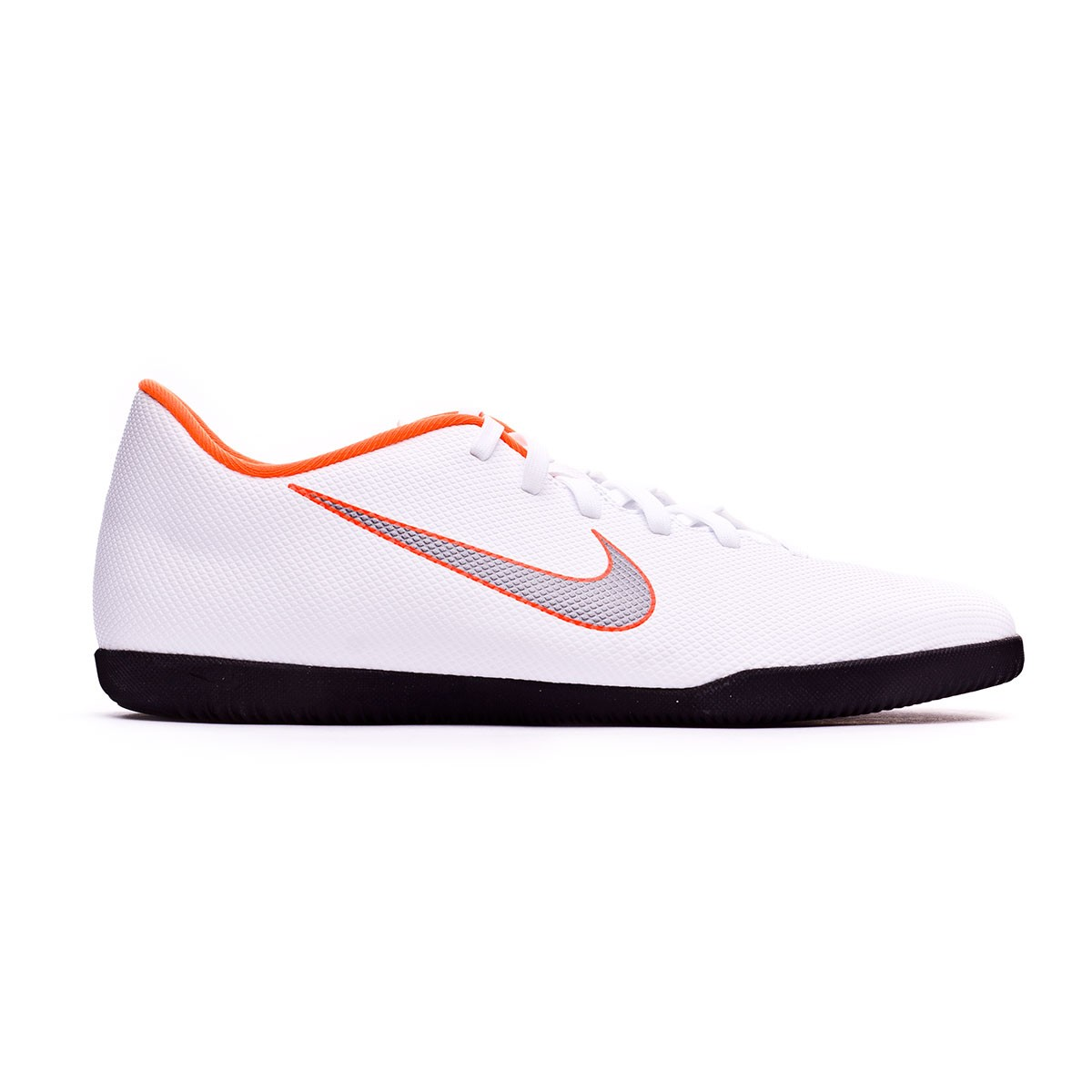b8ec0df45c1 Futsal Boot Nike Mercurial VaporX XII Club IC White-Metallic cool  grey-Total orange - Tienda de fútbol Fútbol Emotion