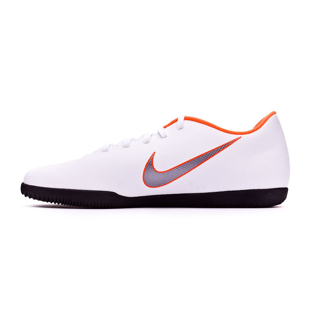 finest selection 60509 323a6 Futsal Boot Nike Mercurial VaporX XII Club IC White-Metallic cool  grey-Total orange - Tienda de fútbol Fútbol Emotion