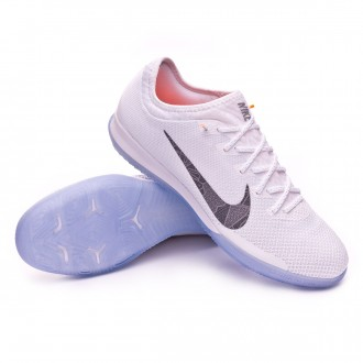 Zapatilla  Nike Mercurial VaporX XII Pro IC White-Metallic cool grey-Total orange