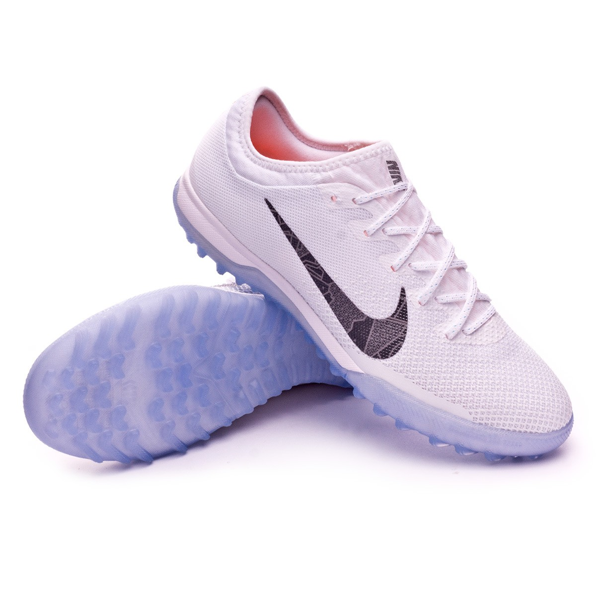 f97423c77e789 Football Boot Nike Mercurial VaporX XII Pro Turf White-Metallic cool ...