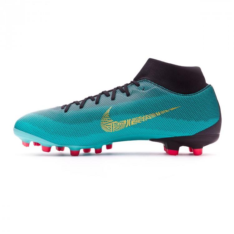 7563e582174d5 Bota de fútbol Nike Mercurial Superfly VI Academy CR7 MG Clear jade ...