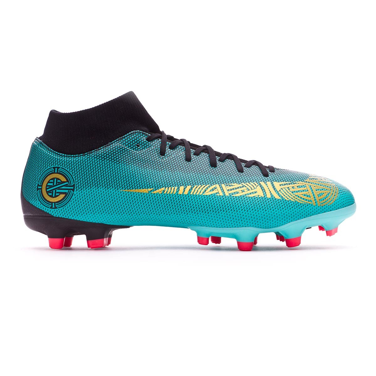super popular 1f05e 54dd7 Boot Nike Mercurial Superfly VI Academy CR7 MG Clear jade ...