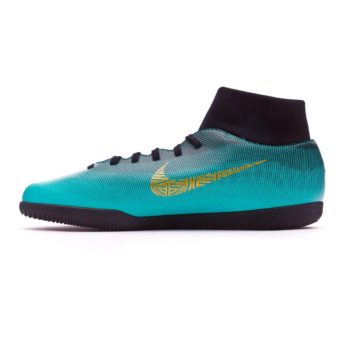 cf1f769cf01c Zapatilla Nike Mercurial SuperflyX VI Club CR7 IC Clear jade-Metallic vivid  gold-Black - Tienda de fútbol Fútbol Emotion