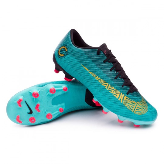 Boot Nike Mercurial Vapor XII Academy CR7 MG Clear jade-Metallic vivid gold- Black - Soloporteros is now Fútbol Emotion