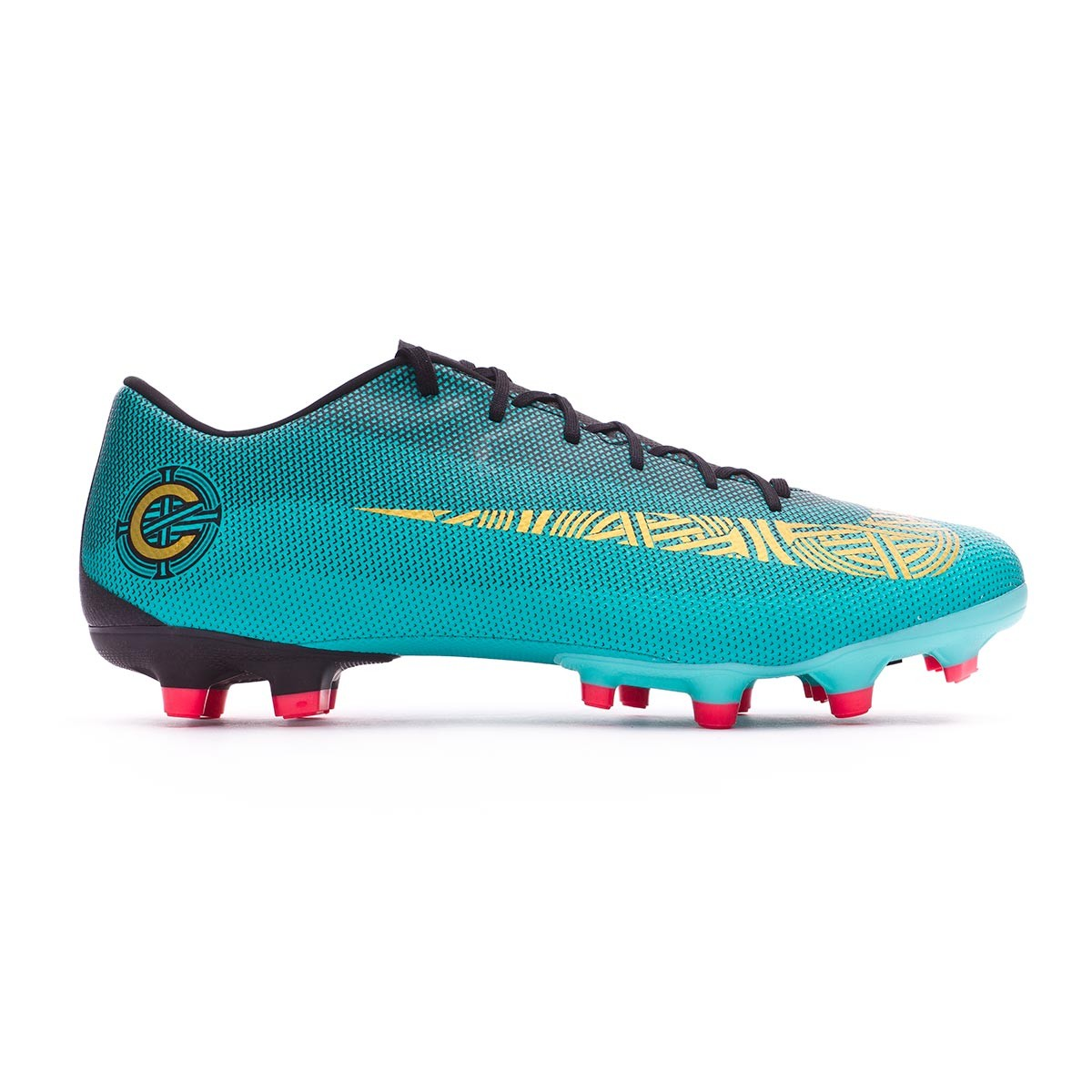 premium selection 2fe82 507d1 Football Boots Nike Mercurial Vapor XII Academy CR7 MG Clear jade-Metallic  vivid gold-Black - Tienda de fútbol Fútbol Emotion