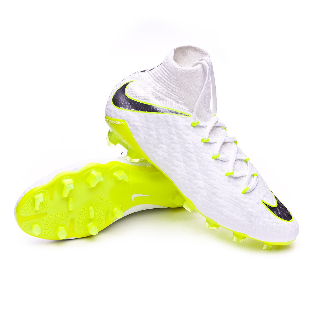 c83497557d52 Football Boots Nike Hypervenom Phantom III Pro DF FG White-Metallic ...