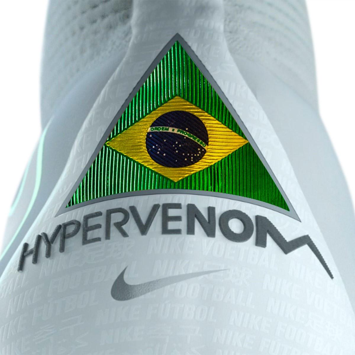Scarpe calcio Nike Hypervenom FG Phantom III Elite DF FG Hypervenom bianca Metallic   abccbb