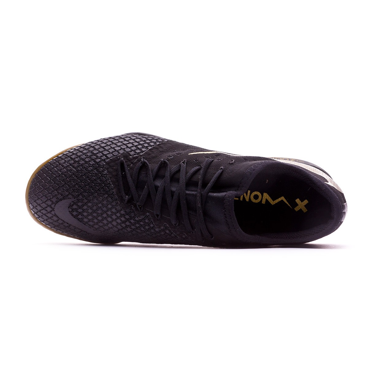 f7832e95ac15 Futsal Boot Nike Hypervenom Zoom PhantomX III Pro IC Black-Metallic vivid  gold - Football store Fútbol Emotion