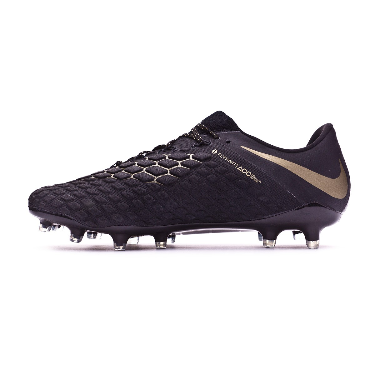 f9d9e66ae3c ... discount bota de fútbol nike hypervenom phantom iii elite fg black  metallic vivid gold soloporteros es