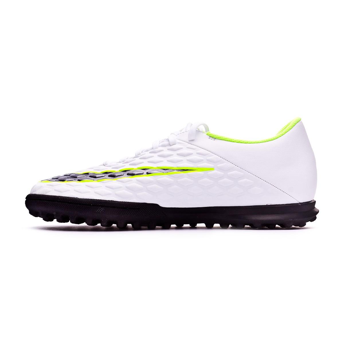 ad16a754d Football Boot Nike Hypervenom PhantomX III Club Turf White-Metallic cool  grey-Volt-Metallic cool g - Football store Fútbol Emotion