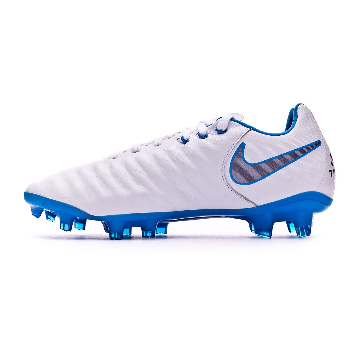 ... Bota Tiempo Legend VII Elite FG Niño White-Metallic cool grey-Blue hero.  CATEGORY aef1361548436