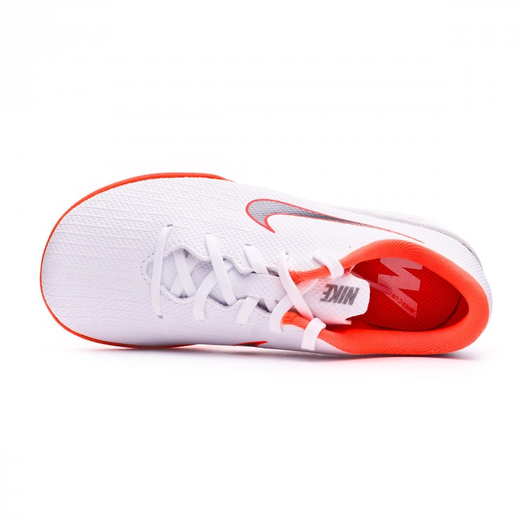 e6cd79c5f33 Futsal Boot Nike Kids Mercurial VaporX XII Academy PS IC White ...