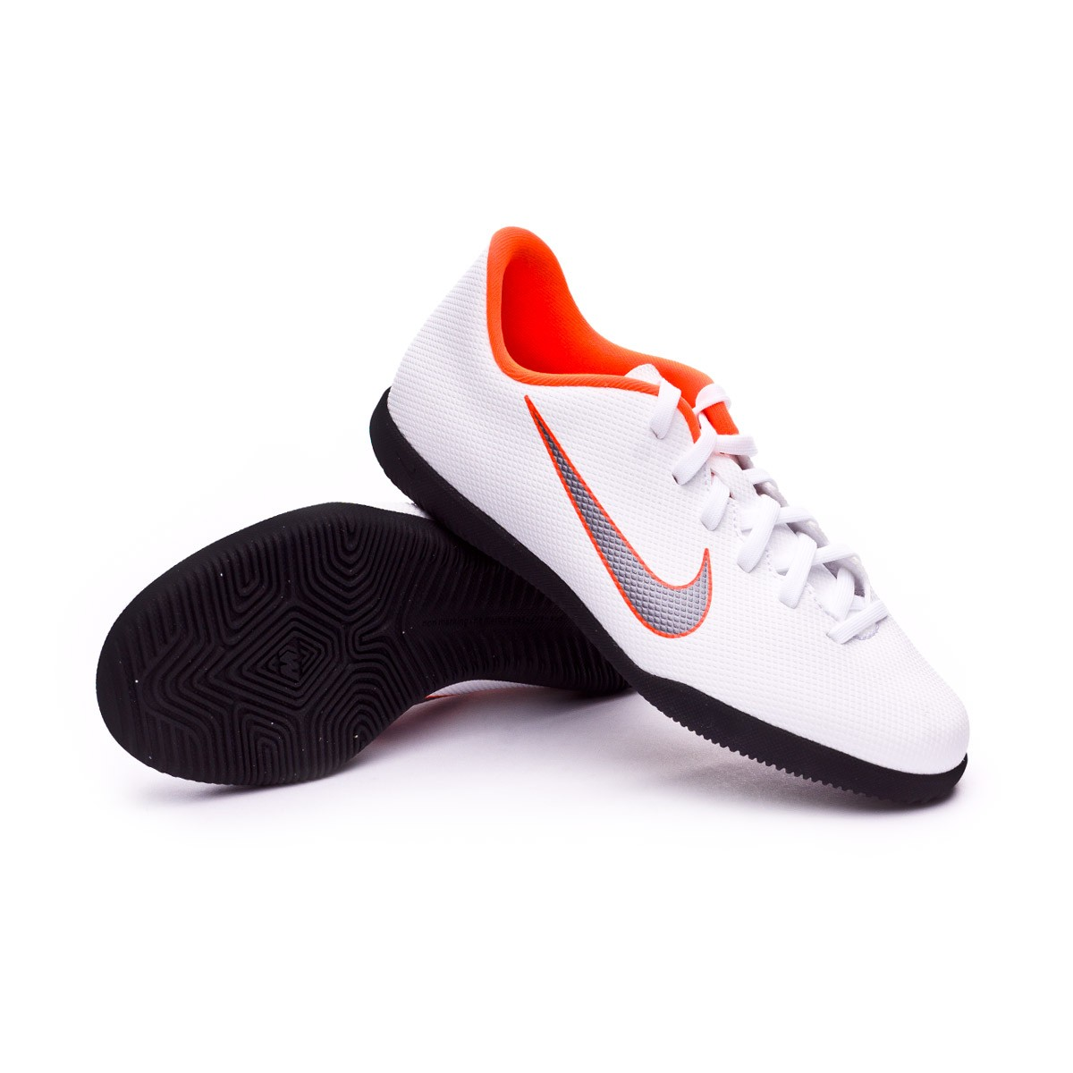 f590766e0f4 Futsal Boot Nike Kids Mercurial VaporX XII Club GS IC White-Metallic ...