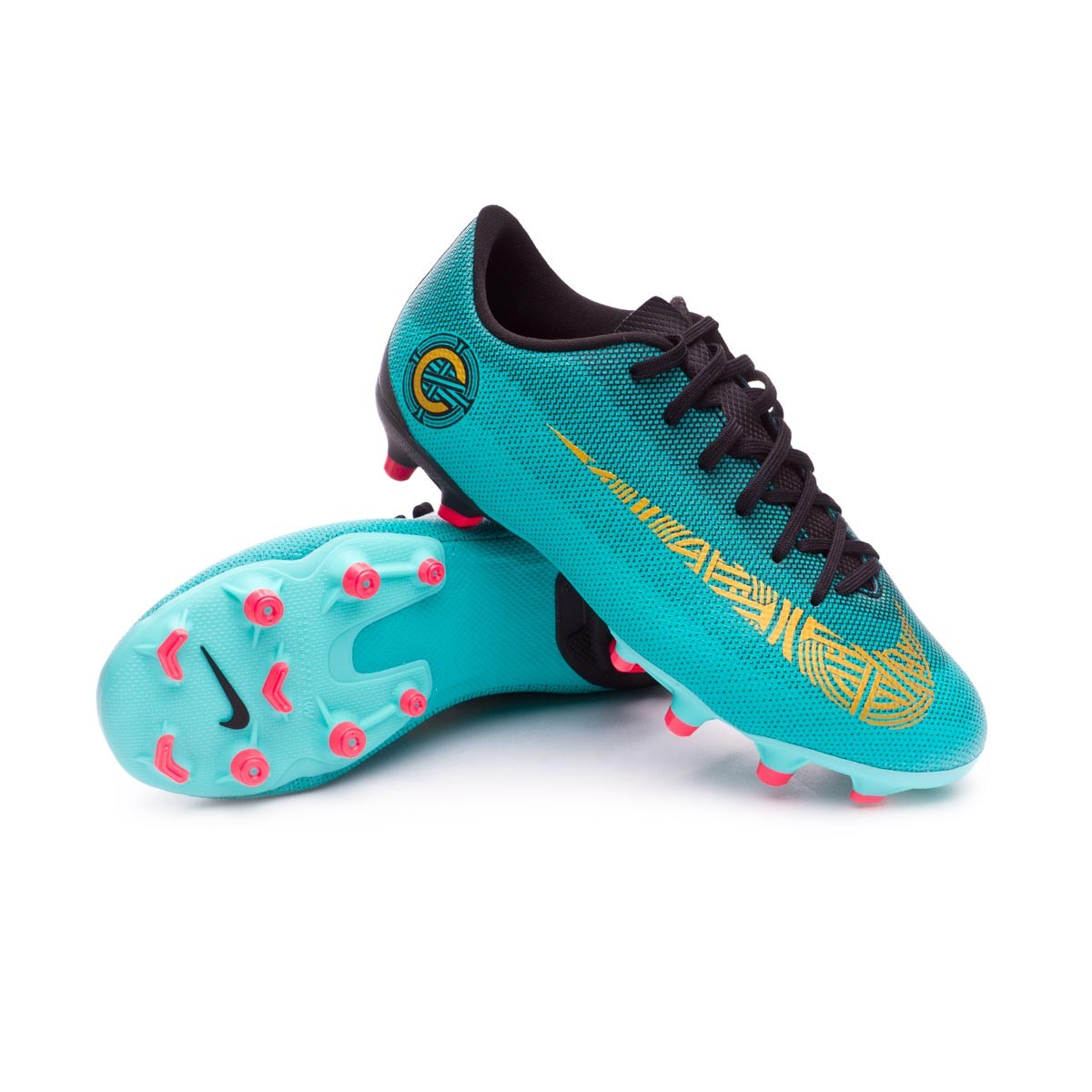 pretty nice 0af2e 08fc6 Nike Kids Mercurial Vapor XII Academy GS CR7 MG Boot