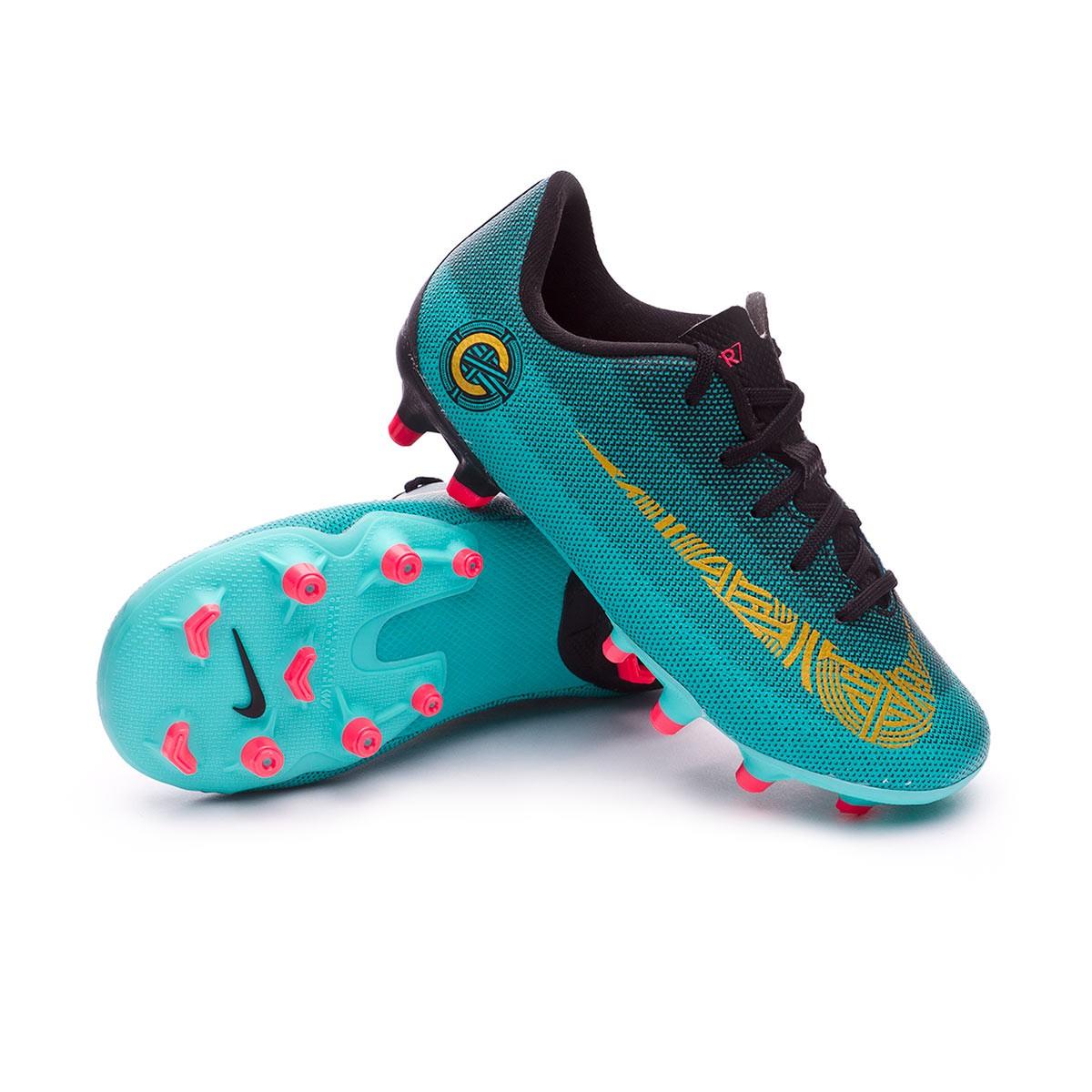 3ce9056ed Football Boots Nike Kids Mercurial Vapor XII Academy PS CR7 MG Clear ...