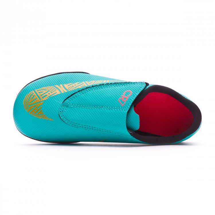 Football Boot Nike Kids Mercurial VaporX XII Club PS Velcro CR7 Turf ... 8bc7f738f4eac