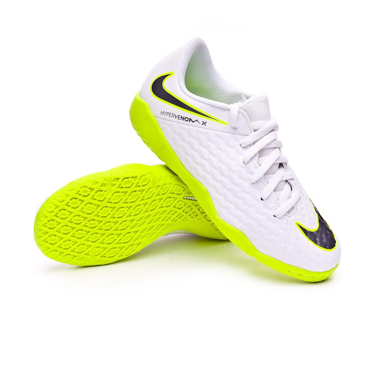 636d1d664 Futsal Boot Nike Kids Hypervenom PhantomX III Academy IC White ...