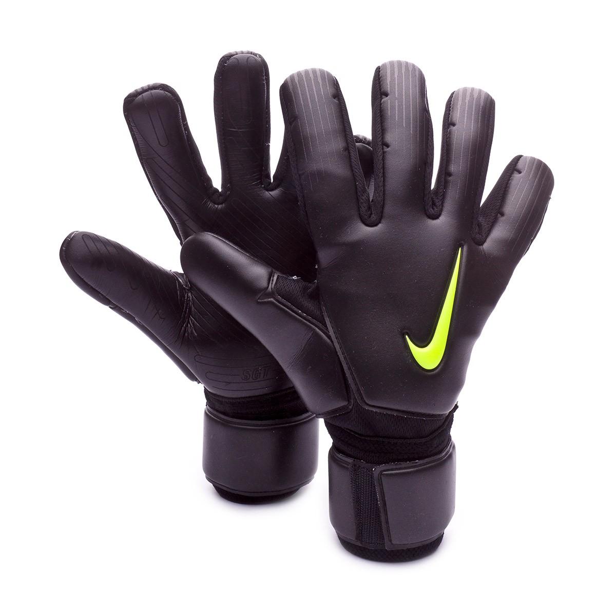 278147e55e Guanti Nike Premier SGT Promo Black-Volt - Negozio di calcio Fútbol Emotion
