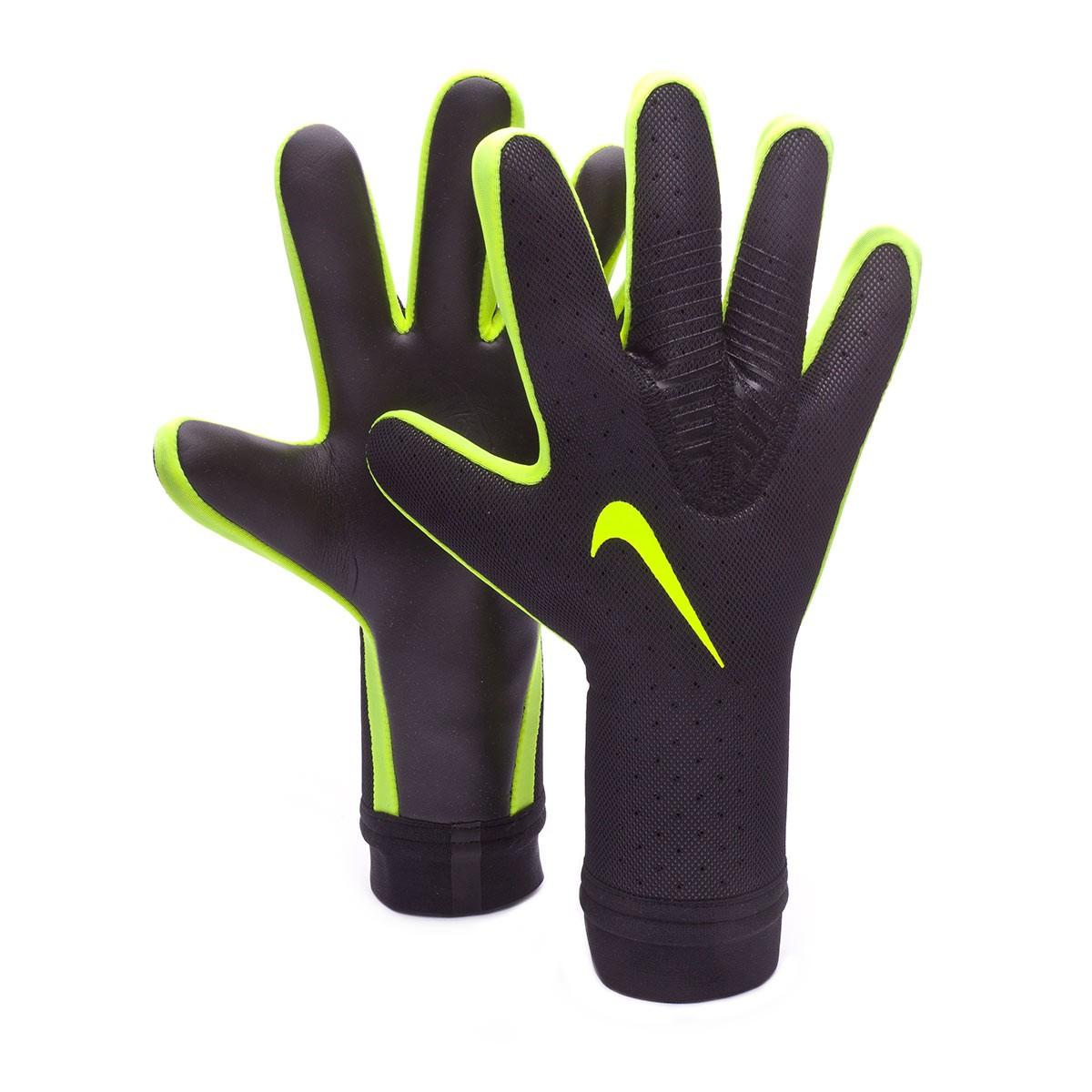 f743bff92 Glove Nike Mercurial Touch Elite Promo Black-Volt - Football store Fútbol  Emotion