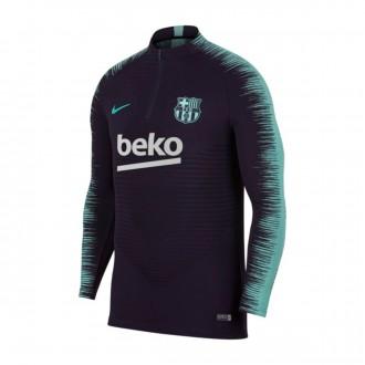 Sudadera  Nike FC Barcelona VaporKnit Strike 2018-2019 Purple dynasty-Hyper turquoise