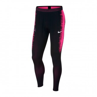 Pantalón largo  Nike Paris Saint-Germain VaporKnit Strike 2018-2019 Black-Hyper pink-White