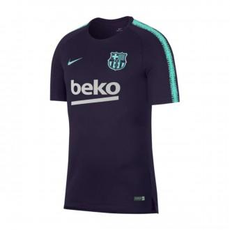 Camiseta  Nike FC Barcelona Squad 2018-2019 Purple dynasty-Hyper turquoise