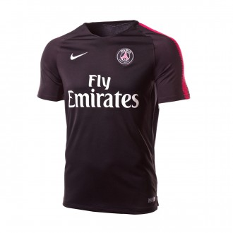 Camiseta  Nike Paris Saint-Germain Squad 2018-2019 Black-Hyper pink-White
