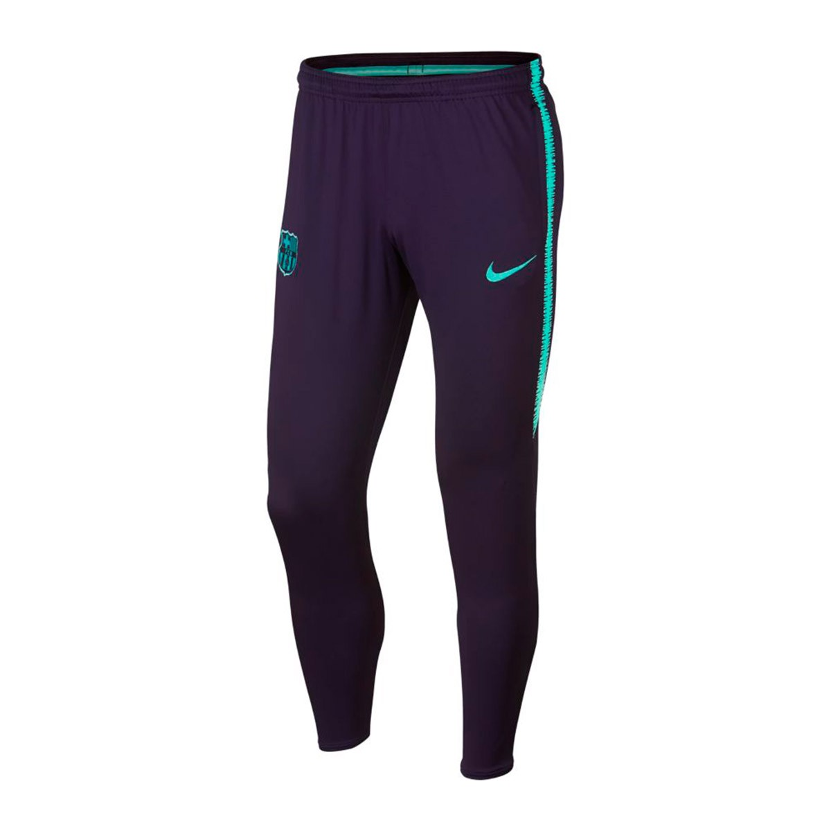 4fd5ad63d66 Tracksuit bottoms Nike FC Barcelona Dry Squad 2018-2019 Purple  dynasty-Hyper turquoise - Leaked soccer