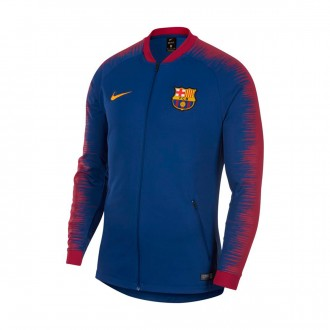 Chaqueta  Nike FC Barcelona Pre-Match 2018-2019 Deep royal blue-University gold