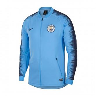 Casaco  Nike Manchester City FC Pre-Match 2018-2019 Field blue-Midnight navy