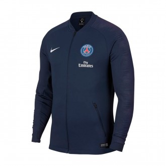 Jacket  Nike Paris Saint-Germain Pre-Match 2018-2019 Midnight navy-White