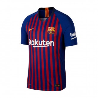 Camiseta  Nike FC Barcelona Vapor Primera Equipación 2018-2019 Deep royal blue-University gold