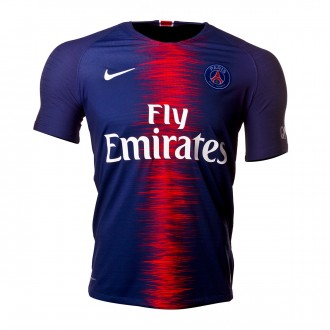 Camiseta  Nike Paris Saint-Germain Vapor Primera Equipación 2018-2019 Midnight navy-White