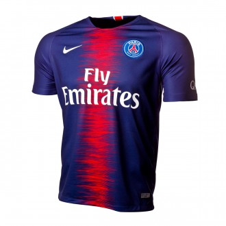 Jersey  Nike Paris Saint-Germain Stadium 2018-2019 Home Midnight navy-White