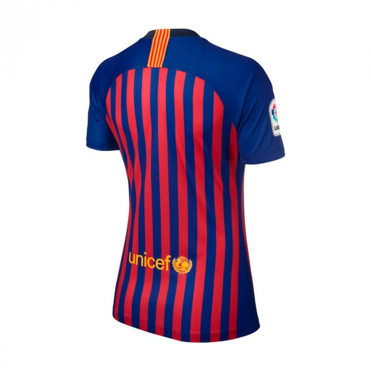 Jersey Nike Woman FC Barcelona Stadium 2018-2019 Home Deep royal ... 6ca8e68273e