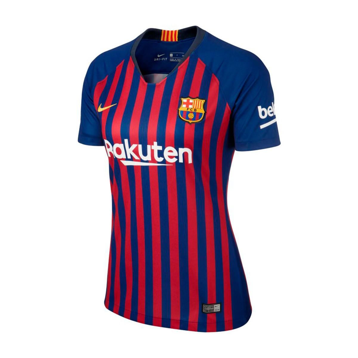 216e7a24e Camisola Nike FC Barcelona Stadium Equipamento Principal 2018-2019 Mulher  Deep royal blue-University gold - Loja de futebol Fútbol Emotion