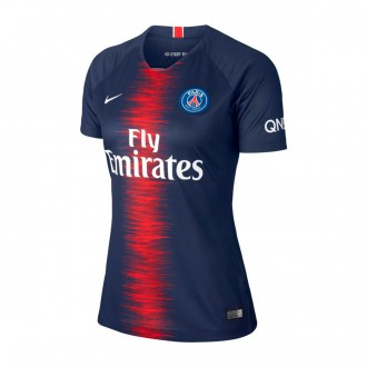 Camisola  Nike Paris Saint-Germain Stadium Equipamento Principal 2018-2019 Mulher Midnight navy-White