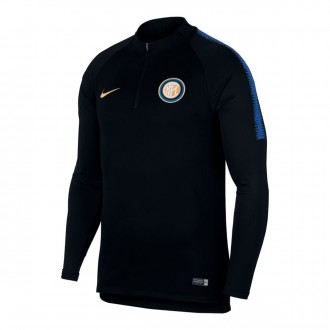 Sudadera  Nike Inter Milán Dry Squad 2018-2019 Black-Game royal-Truly gold