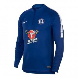 Sudadera  Nike Chelsea FC Dry Squad 2018-2019 Rush blue-White