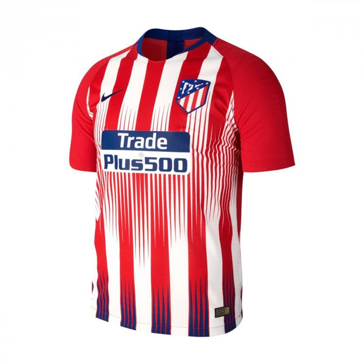 Jersey Nike Atlético de Madrid Vapor 2018-2019 Home Sport red-White ... 567dc91d288