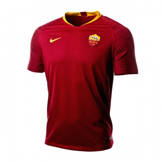 Camiseta  Nike AS Roma Vapor Primera Equipación 2018-2019 Team red-University gold